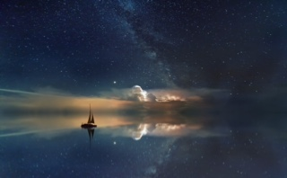 sailing at night creative pic IMG_0525